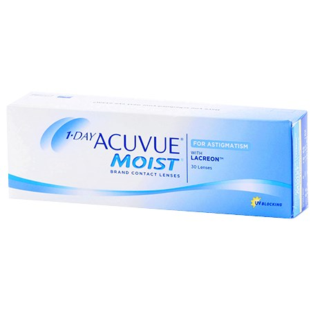 Acuvue 1-DAY ACUVUE MOIST for ASTIGMATISM 30pk contacts