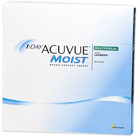 Acuvue 1-DAY ACUVUE MOIST Multifocal 90 Pack contacts
