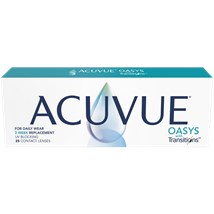 ACUVUE OASYS with Transitions 25pk contact lenses