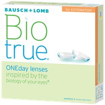 Biotrue ONEday for Astigmatism (90 pack) contact lenses
