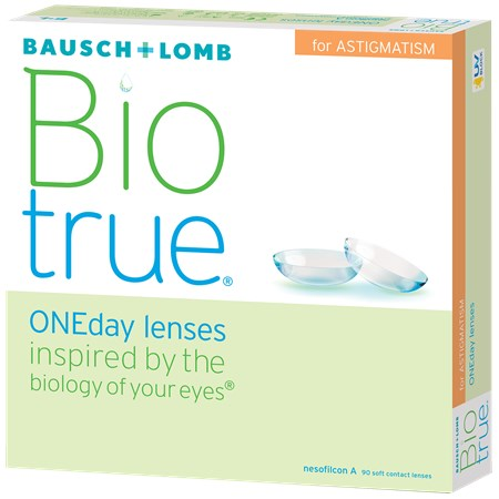 Biotrue ONEday for Astigmatism 90pk contacts