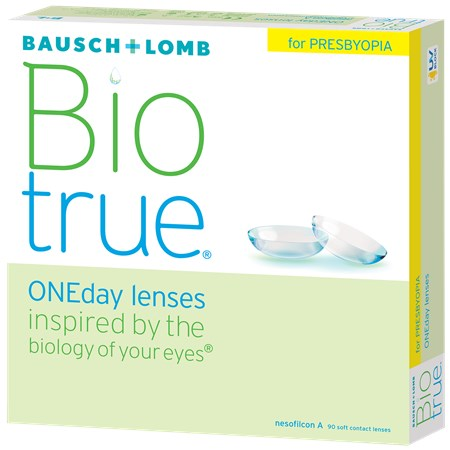 Biotrue ONEday for Presbyopia 90pk contacts