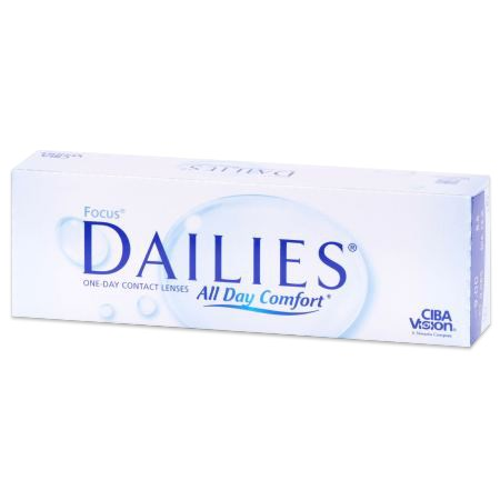 FOCUS DAILIES 30pk contacts