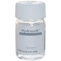 Hydrasoft Sphere Aphakic Vial contact lenses
