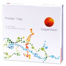 Proclear 1 day 90pk contact lenses