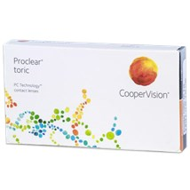 Proclear toric XR contact lenses