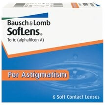 SofLens Toric For Astigmatism contact lenses
