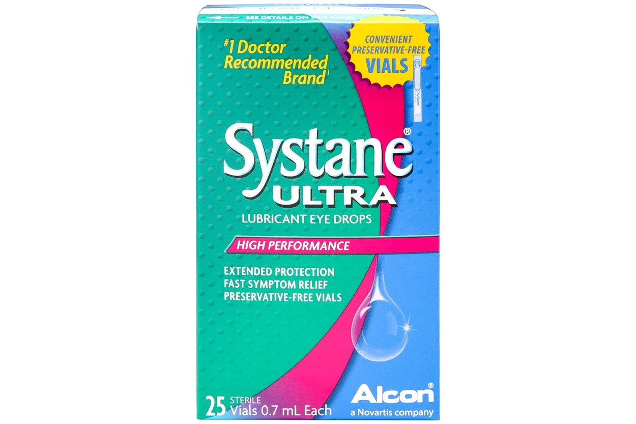 Systane Ultra Preservative Free Drops 25ct DryRedEyeTreatments